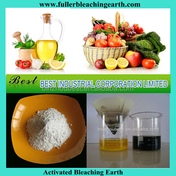 Activated Bleaching Earth/fuller Earth For Used Cooking Oil ...