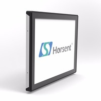 "Horsent high quality 15"" open-frame lcd touch screen monitor interactive display Pcap"