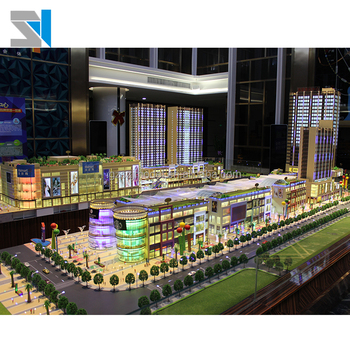 Led light scale models 1:100 architectural modeling supplies, View  architectural modeling supplies, SZJ Brand Product Details from Guangzhou