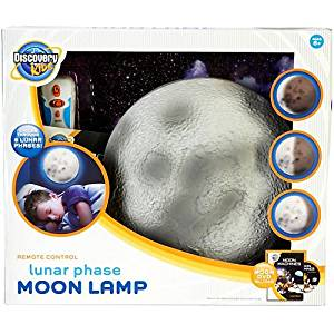 Get Quotations · Discovery Kids Lunar Phase Moon Lamp MULTI