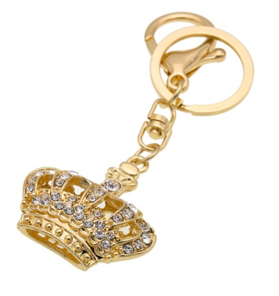 OEMPROMO Metal Crown Keychain