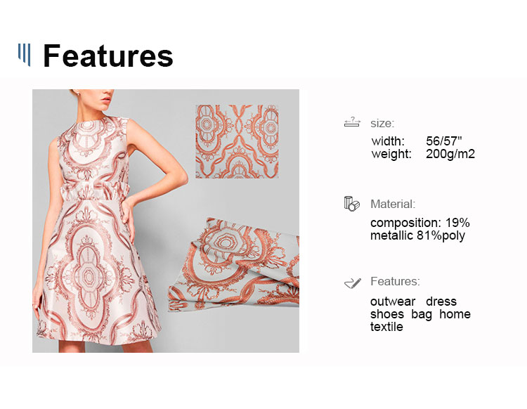 SBR11A 3D high quality mini multi striped pattern  polyester  3D crinkle brocade jacquard fabric