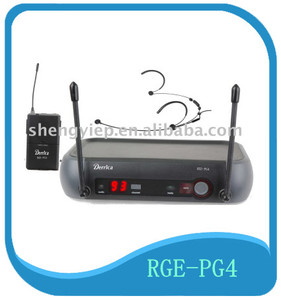hot sell mini low price and UHF professional wireless collar microphone system for karaoke
