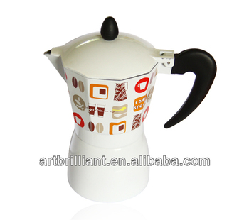 6cup Spanish Syphon Moka Coffee Maker White Color - Buy Moka Coffee Maker,Syphon Coffee Maker ...