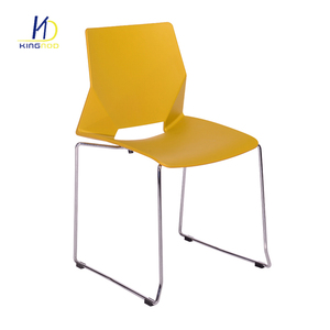 Classic Design Modern Solid Metal Frame Stackable Plastic Chair