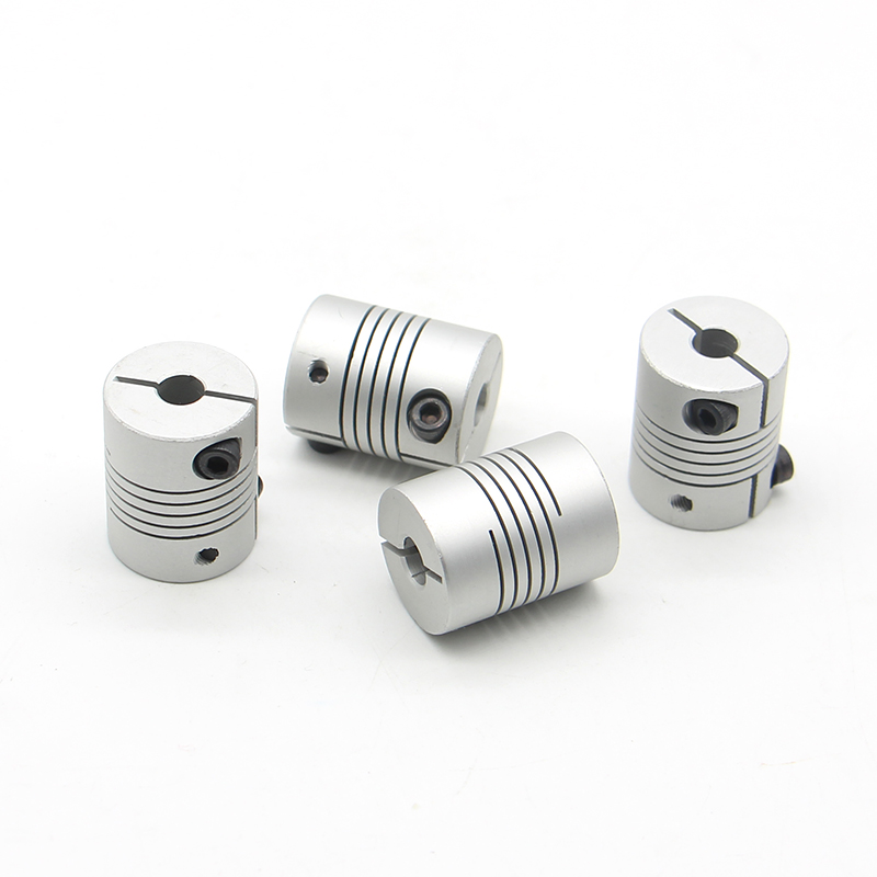 YUMO clamping shaft aluminium motor coupler type coupling shaft flexible spring encoder quick coupler