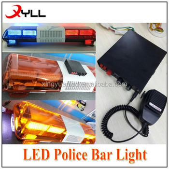 Amber led strobe traffic emergency light bar flash police amber led strobe traffic emergency light bar flash police lightbars with siren speaker for sale aloadofball Image collections