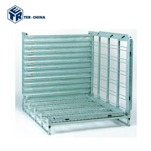 Airtight Folding Metal Wire Mesh Pallet Cage