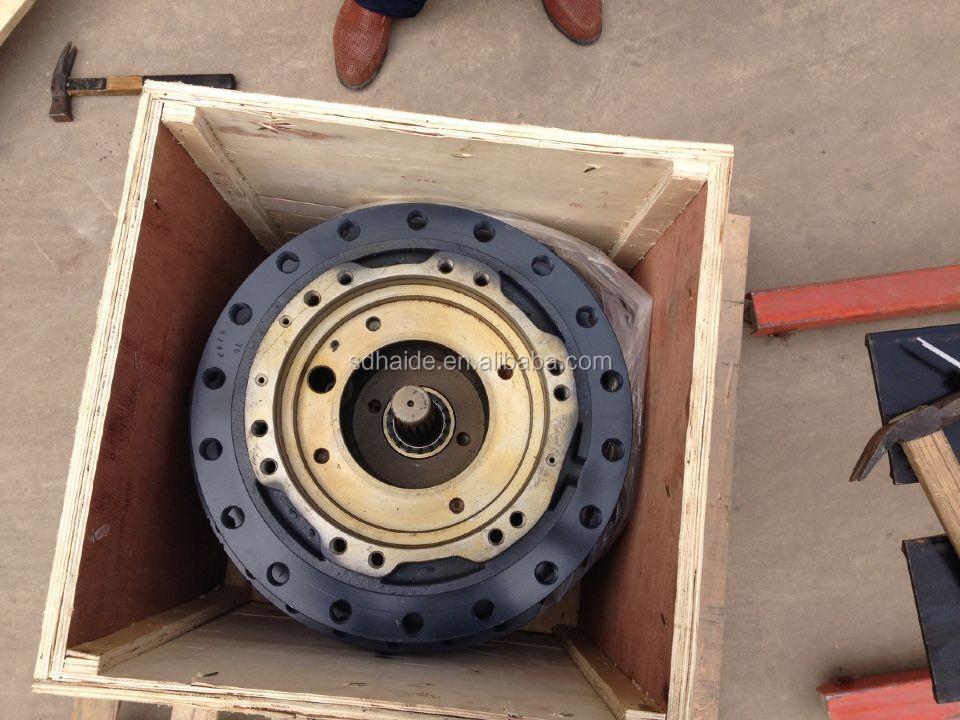 Hyundai R2900lc 7 Travel Gearbox R290 Final Drive Assy For