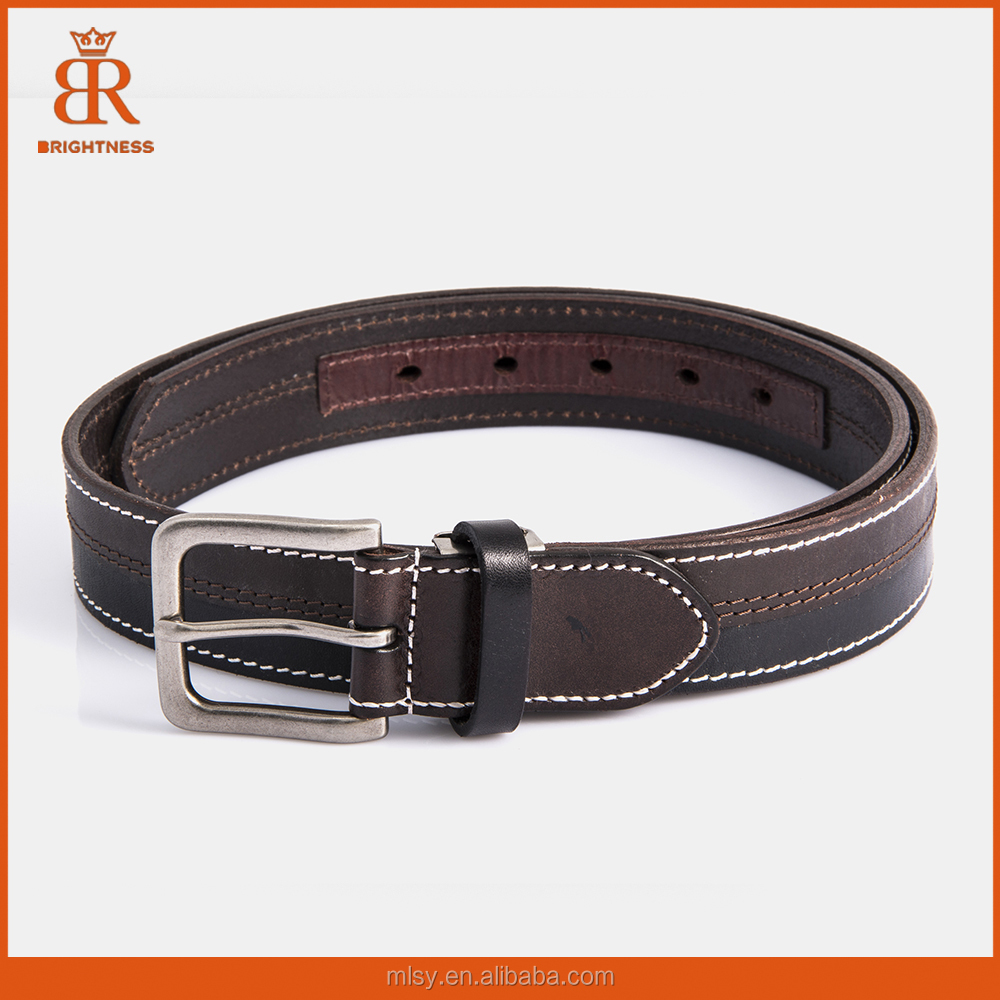 New Product Men Luxury Genuine Leather Belt Fashion Custom Belt