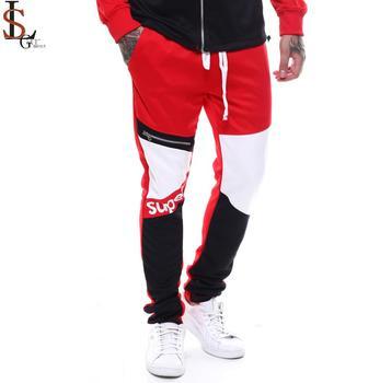 2019 New Arrival Street Stylish Custom Hip Hop Wear Stripe Joggers