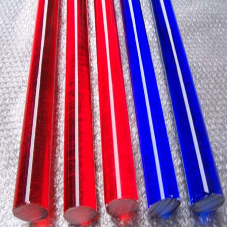 Different Diameter Colored Line Decorative Plastic Acrylic