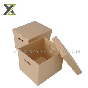Brown high quality archive storage box