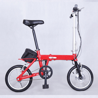 2016 New 350w folding electric bike with hidden battery/electric bicycle for sale/ele