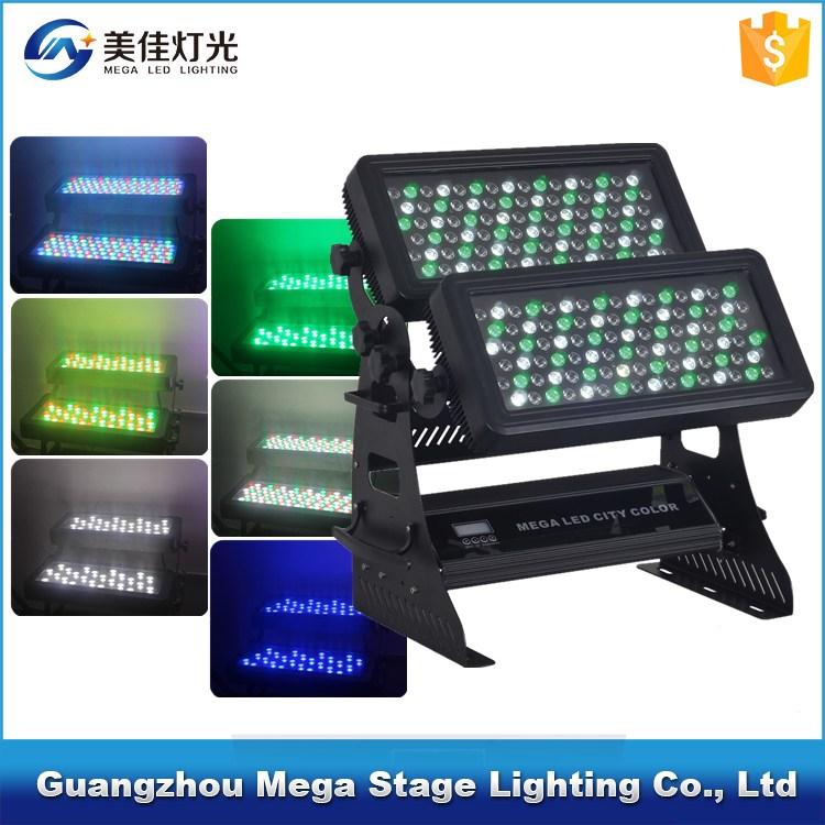 pro high quality dmx512 rgbw strobe outdoor led wall washer light dmx
