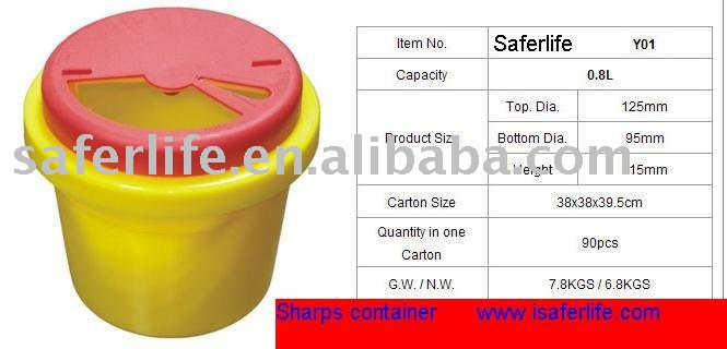 sharp disposal. medical waste container disposal bin sharp safe containers - buy containers,medical bin,medical product on s