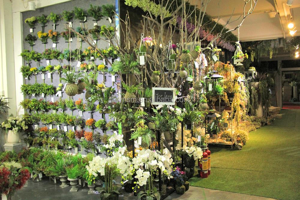 Home wedding decor orchid wholesale slik flowers artificial