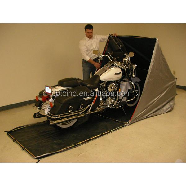 En plein air pliable moto abri garge garage toit et abris for Location garage moto
