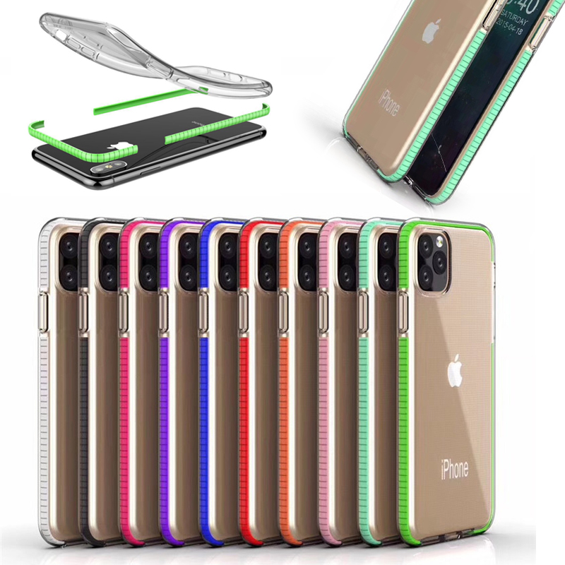 Ultra thin clear tpu transparent phone case for xi 11