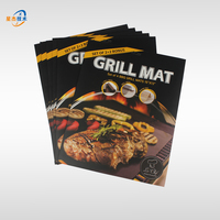 Heavy Duty BBQ Grill Mats - Non Stick, Reusable, and Easy to Clean Barbecue Grilling Mat