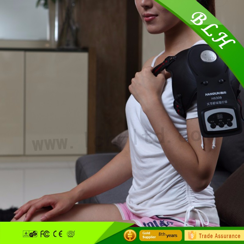 Electric vibration joint pain massager knee heating pads relieve aches and easy to be carried portable