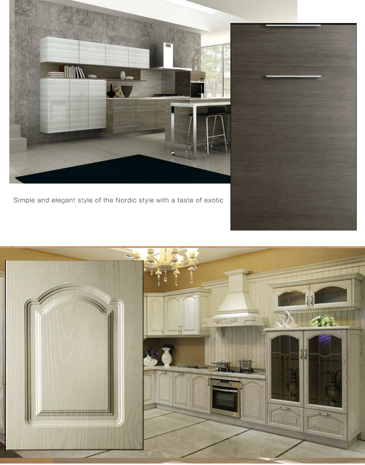 Cheap Price Pvc Mdf Kitchen Cabinet Doors - Buy Pvc ...