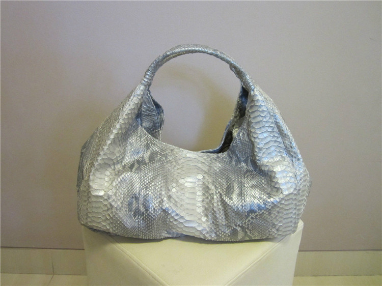 Latest hot selling!! python snake skin leather handbag manufacturers china