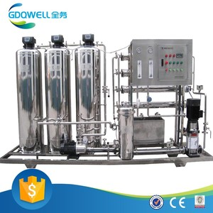 High Efficient RO Demineralized Water Treatment Machine Small Size Water Cleaner