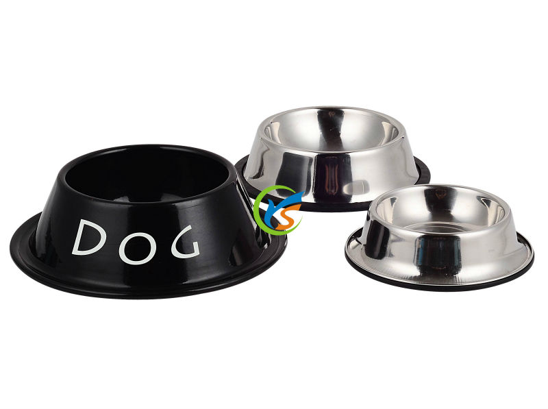 Zinc food grade designer dog bowls