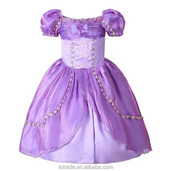 Traje De Rapunzel Princesa Sofía De Niños De Moda Ropa De Fiesta Princesa Sofía Vestidos Buy Vestido Princesa Rapunzelvestidos De Sofíatraje De