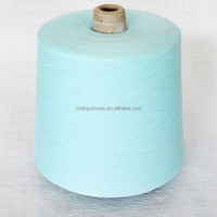China Wholesale Virgin Ne30 Spun Polyester Yarn For Knitting Towels Stock Lots
