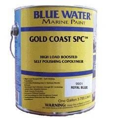 Gold Coast Spc Marine Black Gallon - 39 Copper, 3 Zinc Pyrithione Self Polishing Copolymer (spc) - Marine Paint Antifouling Bottom Paint - iPaint.us