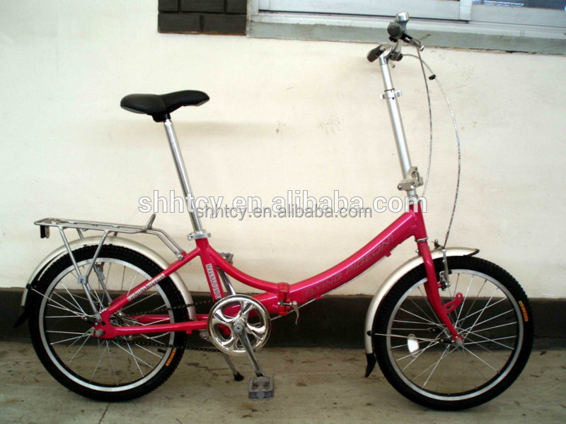 red beautiful folding bike/bicycle/cycle 20 inch