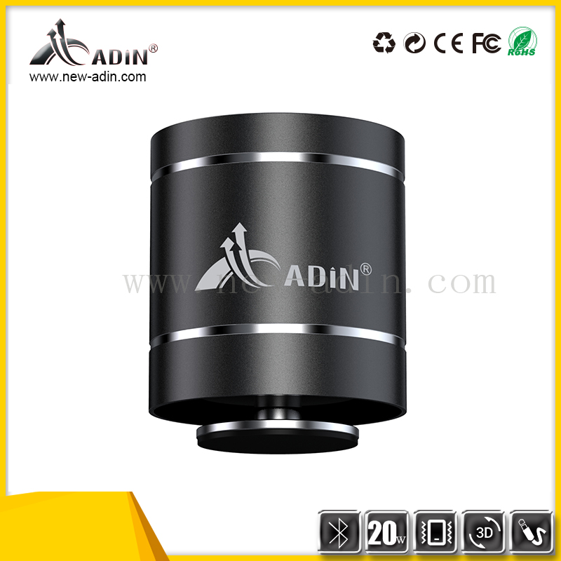 Adin 20w vibration 360 portable bluetooth speaker