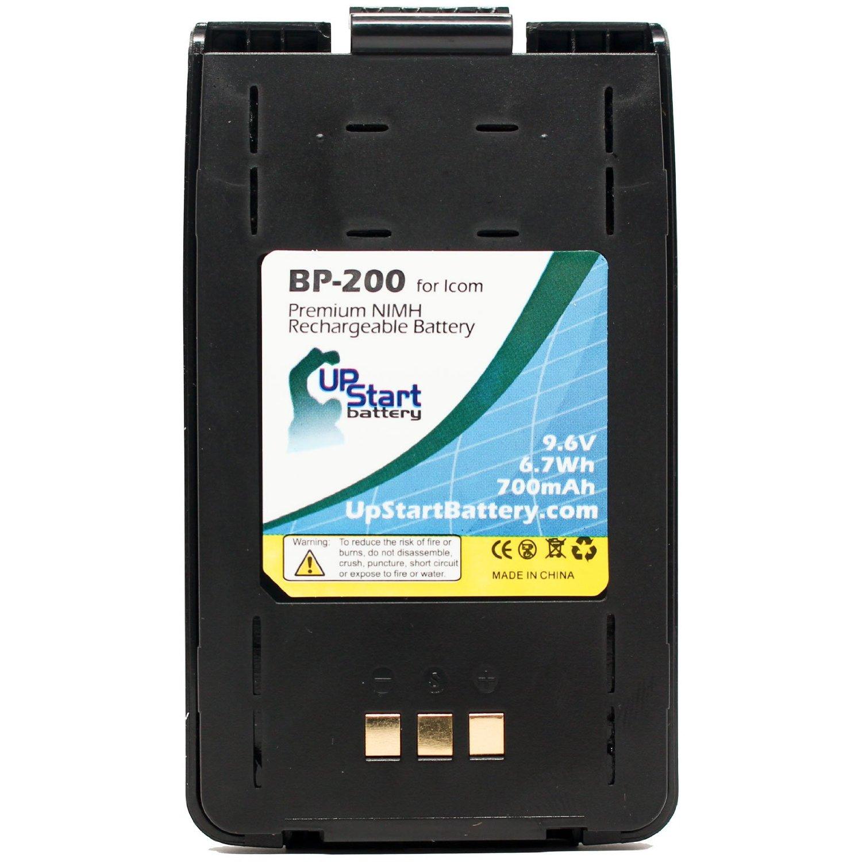 Battery for Cobra GA-CR MT725 FRS235 MT200 Two-Way Radio
