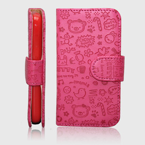 china supplier mobile phone cases leather flip cover case for asus padfone a66