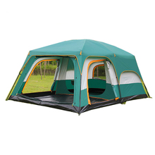Europese 8 Personen Grote Luxe Wind Slip Familie Carpas de Camping Tent