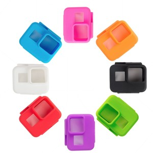 New silicone case Silicone skin for GoPros Heros 5 Black go pro Heros 5 accessories GP336