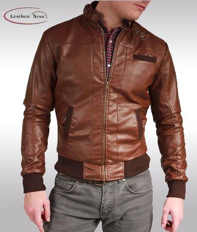 Mens Bomber Leather Jacket - Buy Fashion Jacket Product on Alibaba.com
