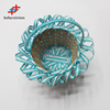 2017 No.1 Yiwu agent hot sale export commission agent Paper woven decoration flower basket for wedding
