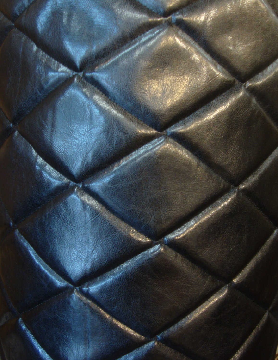 Buy 54 Upholstery Marine Perforated Vinyl Black Fabric By The Yard