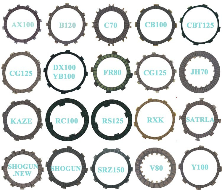best wh125 motorcycle brake pad disk brake pads for motorbike