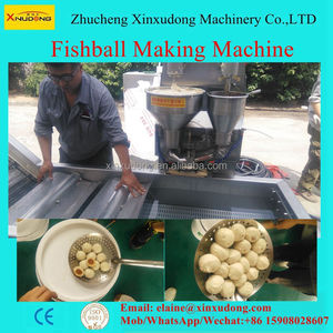 Automatic fish ball making machine for sale