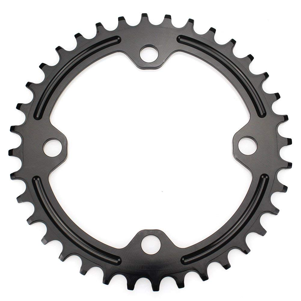 FOMTOR 34T Chainring 96 BCD Single Narrow Wide Chainring Fit for XTR,XT,SLX Series Crank