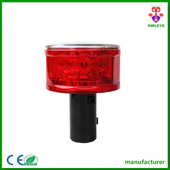 Waterproof Solar Traffic Strobe Lights / Solar Powered Traffic ...