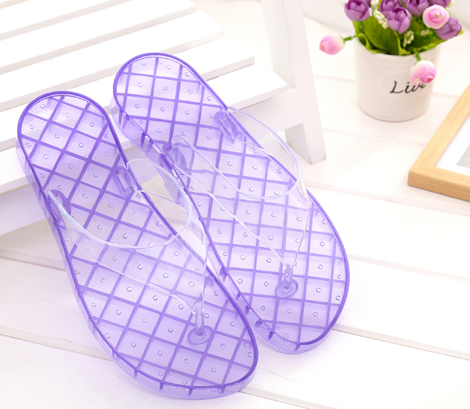Beixiduo high quality Womens Summer Flip Flops Shoes Beach Sandals Indoor Massage Slipper