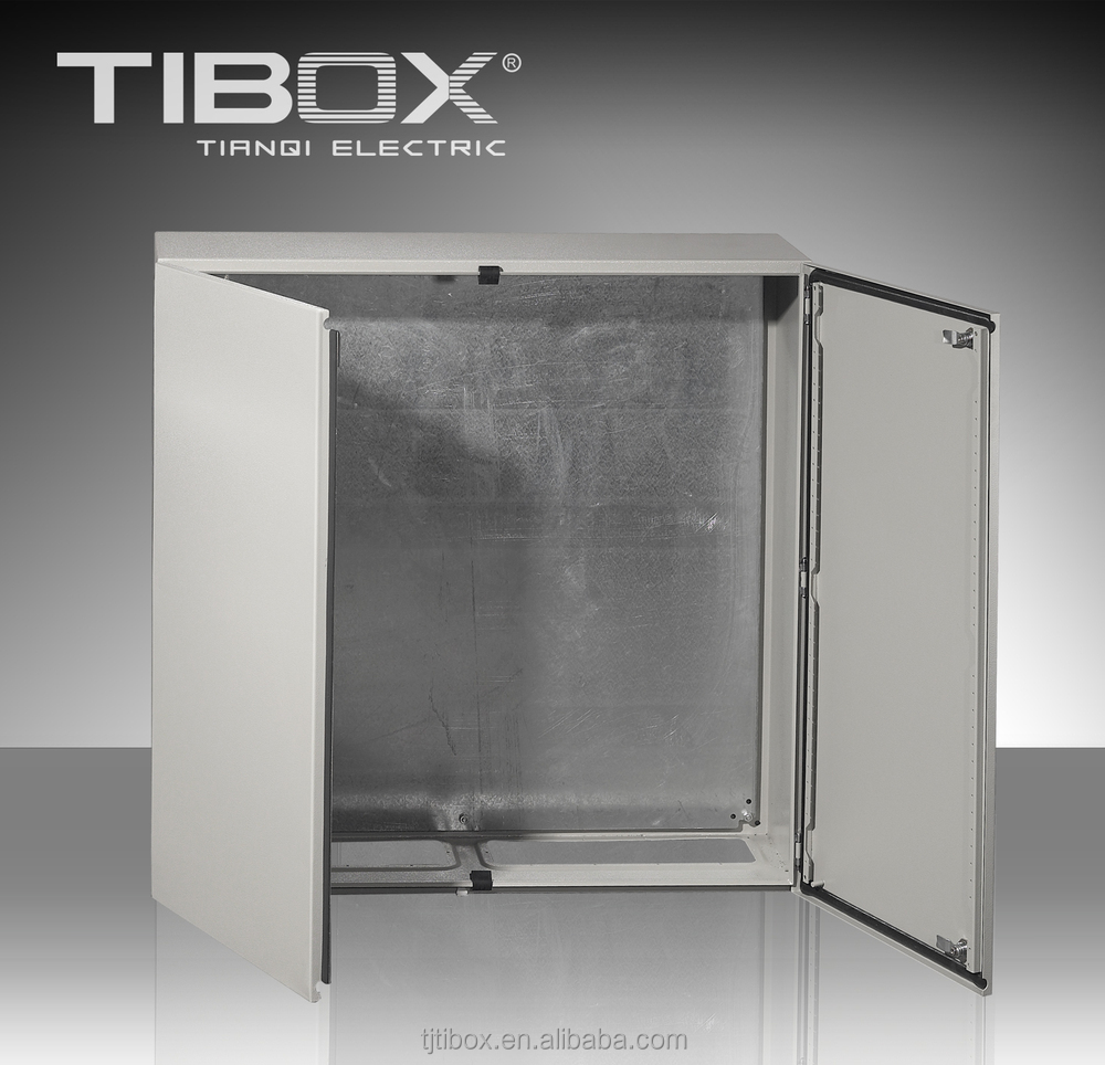 High quality ip66 outdoor sheet steel wall mount enclosure for Outdoor double doors