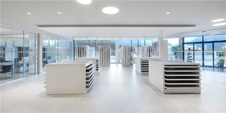 Ceramic Tile Showroom Display Stands Design Ideas