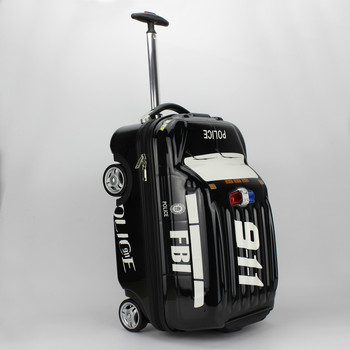 54f347f4f7 PC ABS caso duro bambini viaggi trolley rotolamento borsa zaino, bambini  ruote a rulli zaino