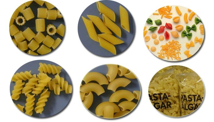 Small Scale Macaroni Pasta Making Machine